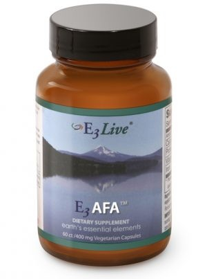 E3AFA® powder form of E3Live 120 count/400 mg