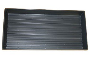 "10"" x 20"" Wheatgrass / Sprout Growing Tray without Drainage Holes"
